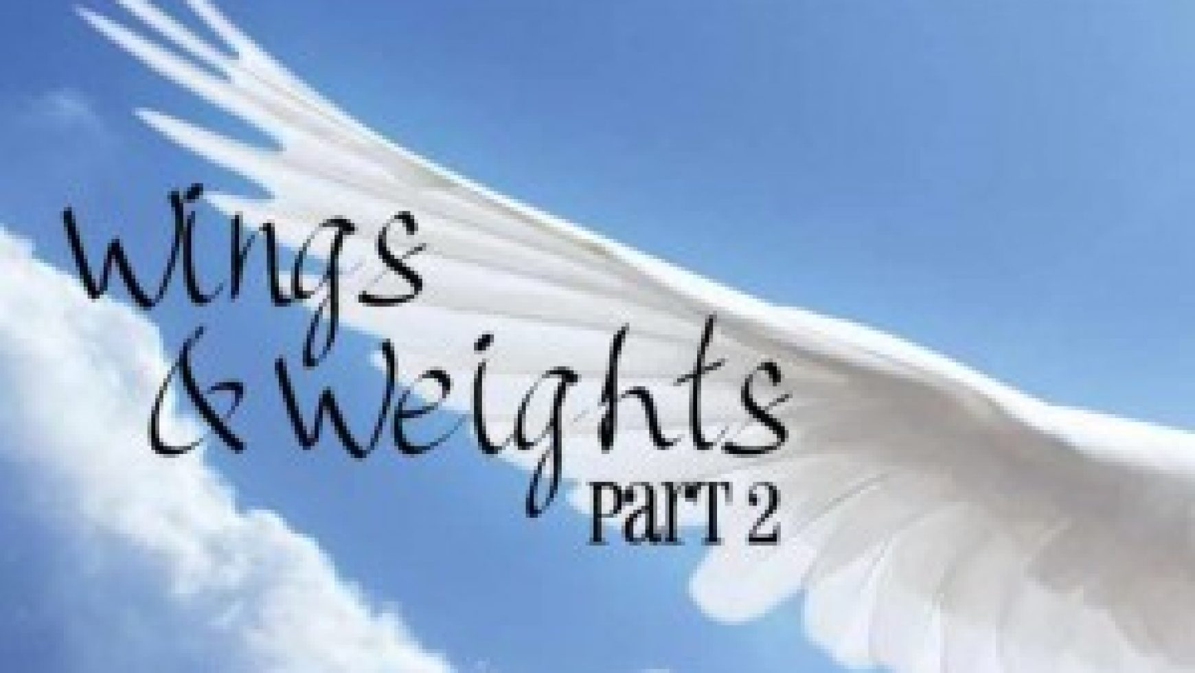 Wings & Weights (Part 2)