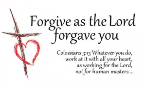 Forgive as the Lord Forgave You