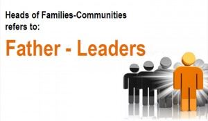 Heads of Families – Communities of Faith