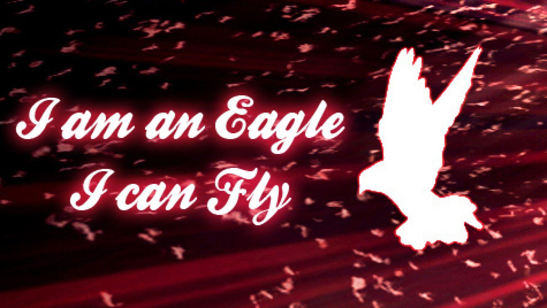 I am an Eagle I can Fly