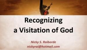 Recognizing God's Visitation