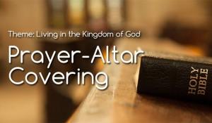 Prayer-Altar Covering