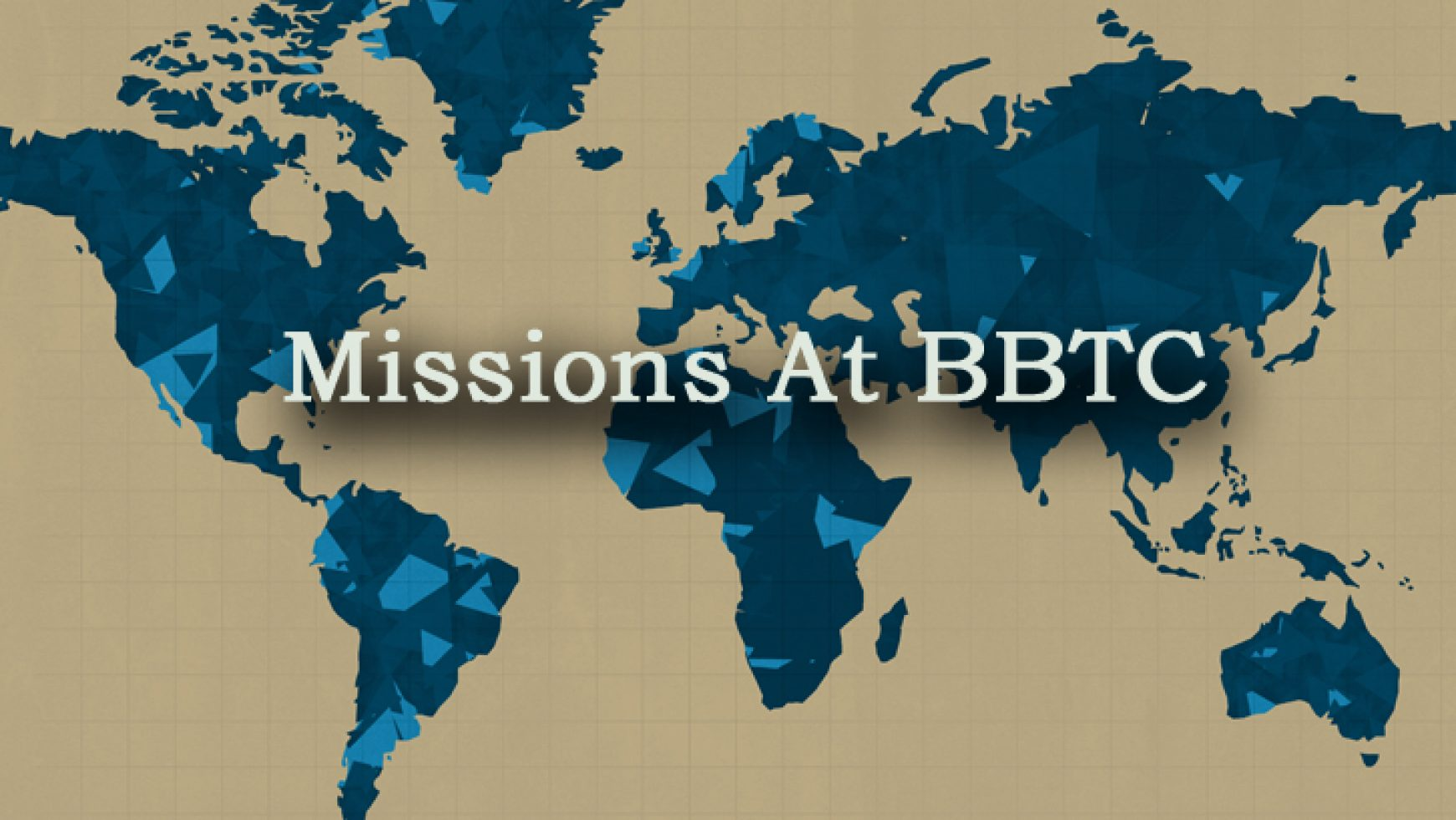 BBTC Missions and Outreach