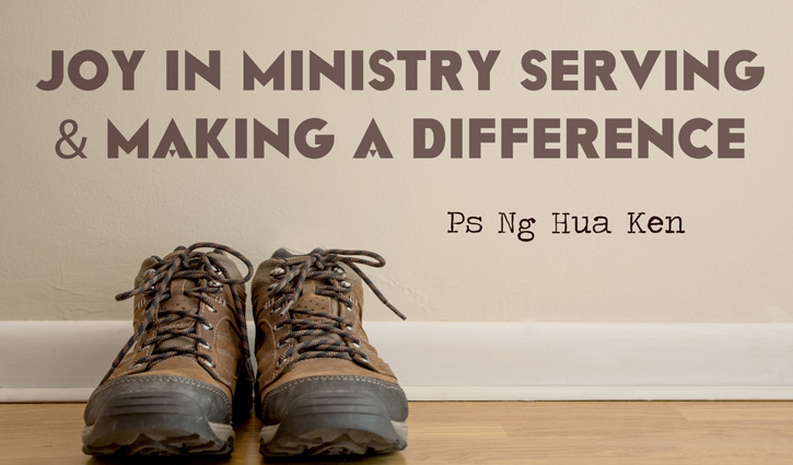 Joy in Ministry Serving and Making a Difference