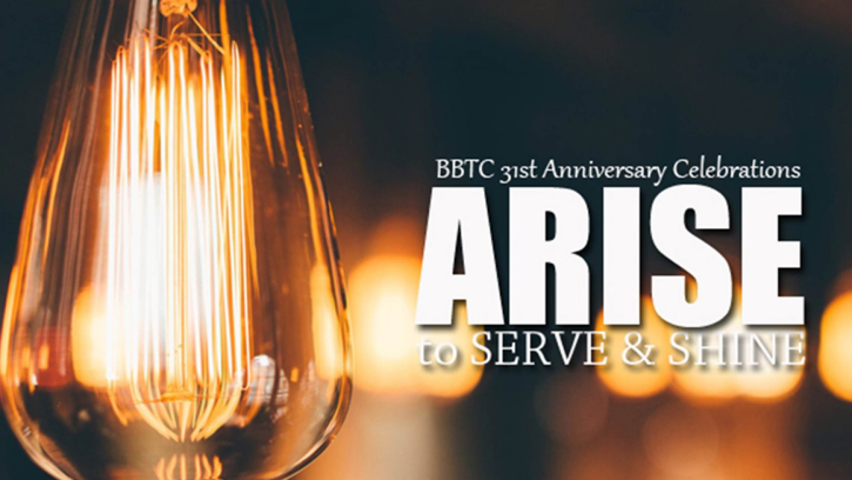 Arise to Serve and Shine