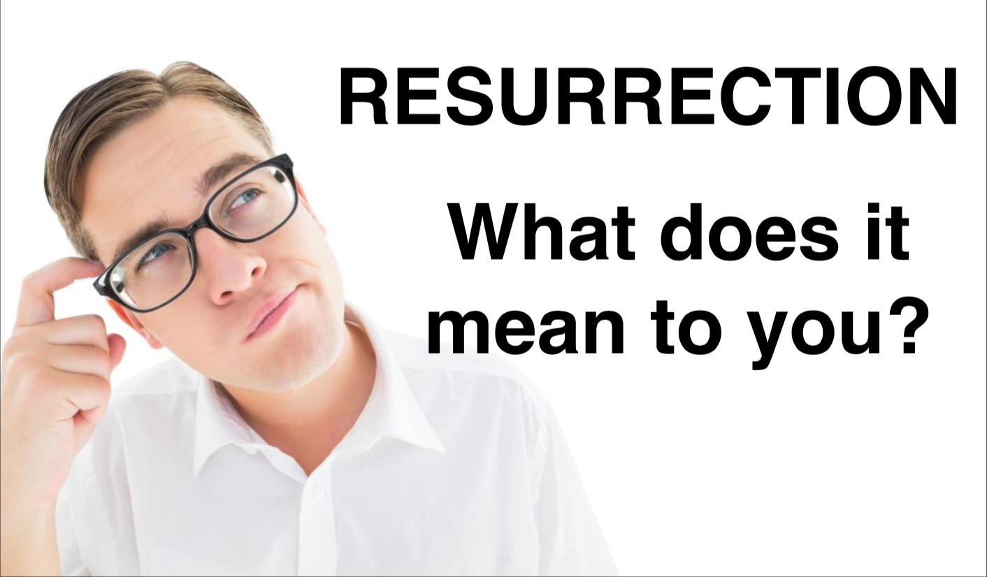 Resurrection – What does it mean to you?