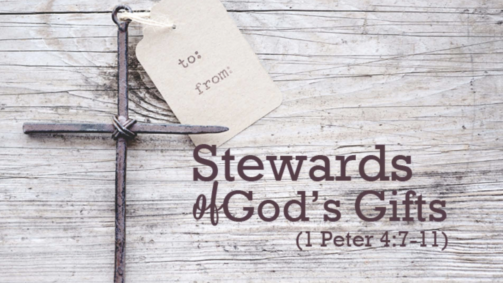 Stewards of God's Gifts
