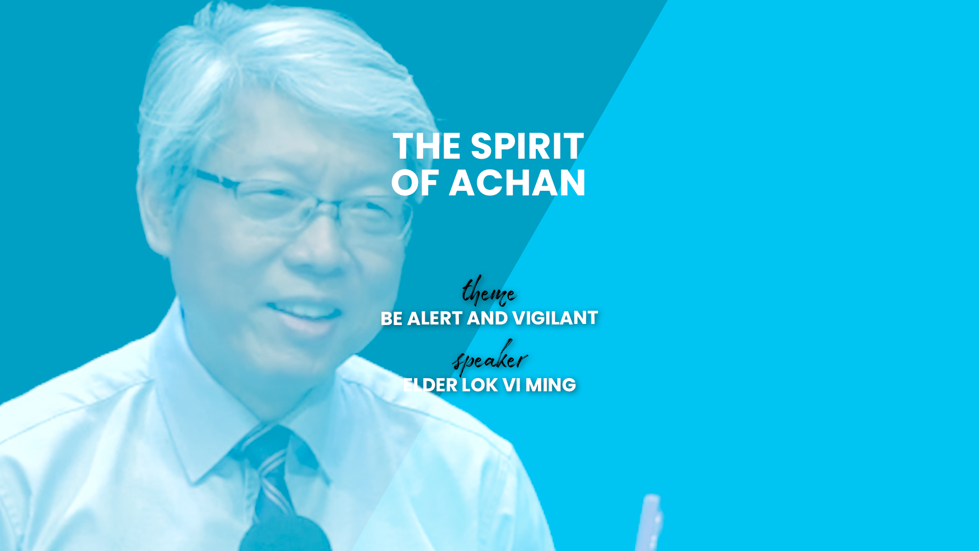 The Spirit of Achan