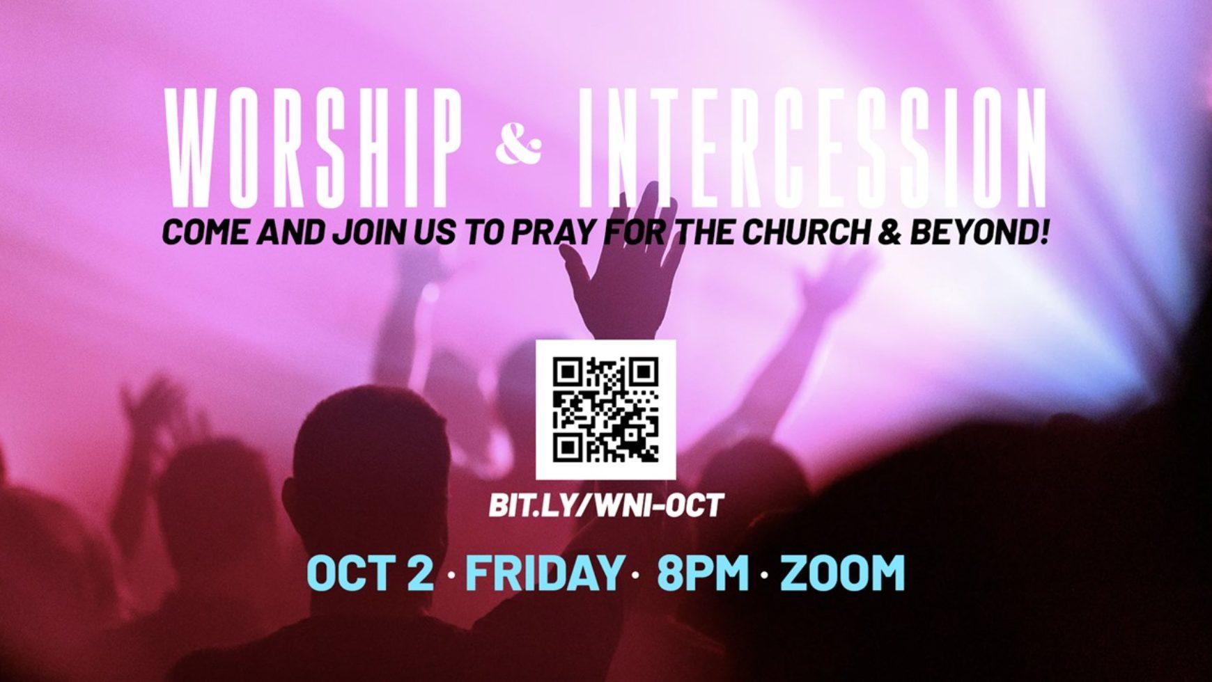 CORPORATE WORSHIP & INTERCESSION (ONLINE)
