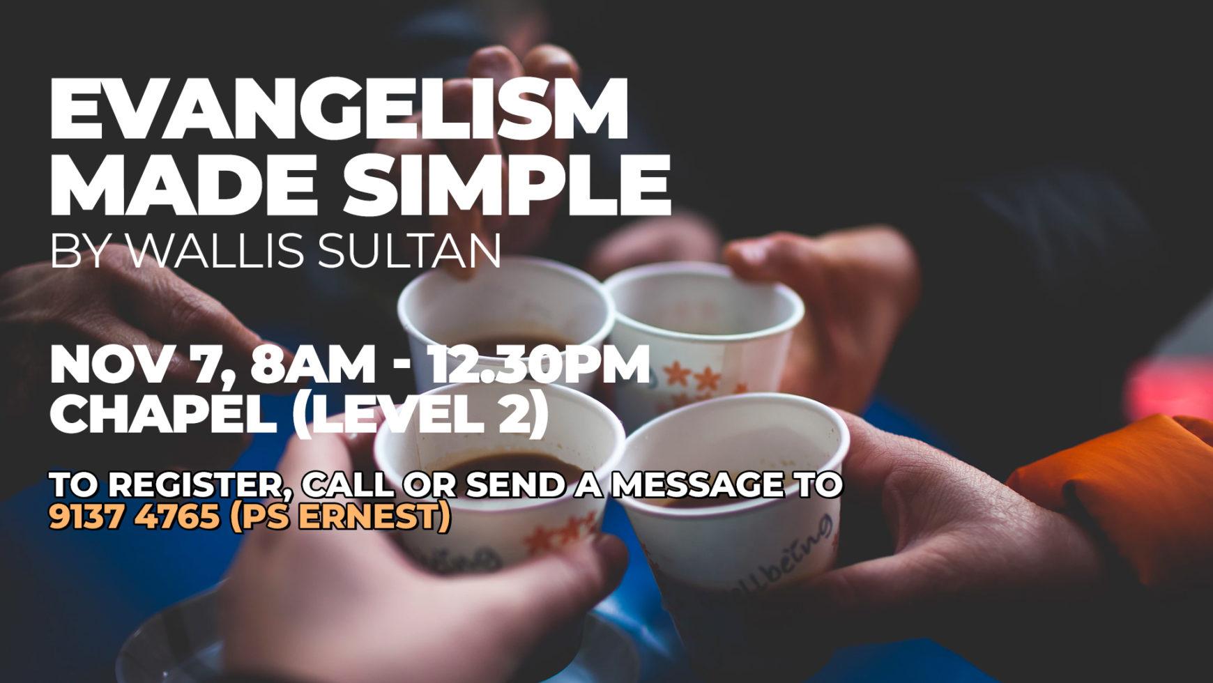 EVANGELISM MADE SIMPLE
