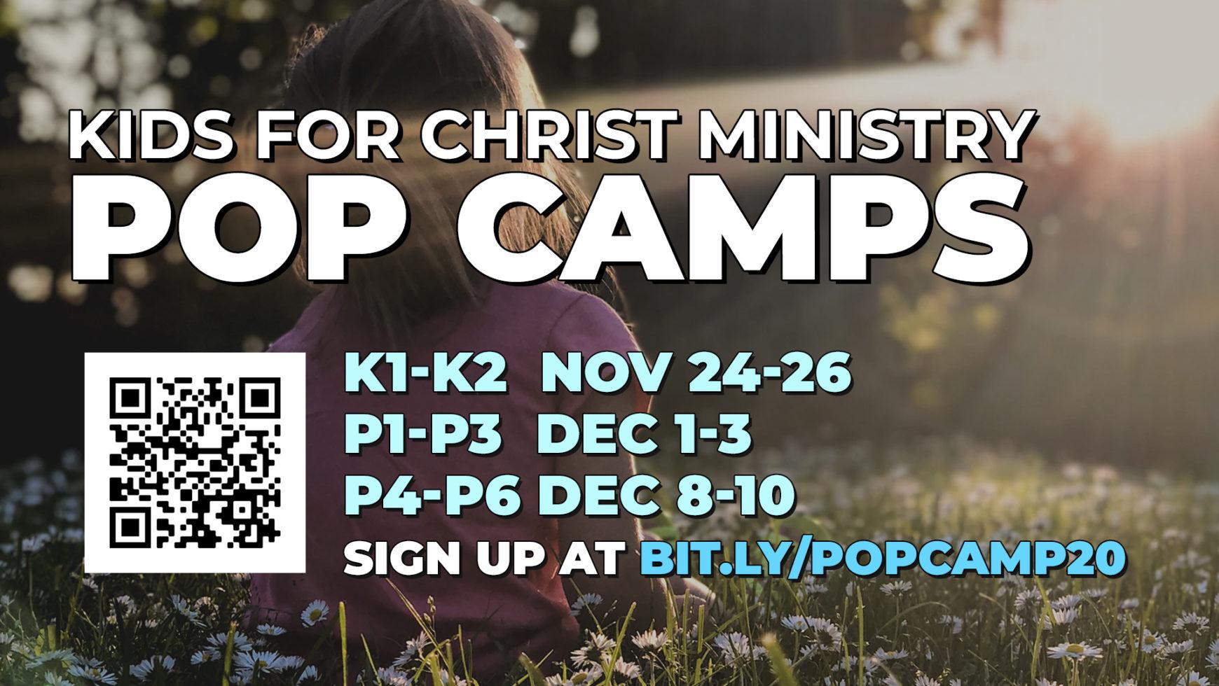 K1 & K2 POP Camps