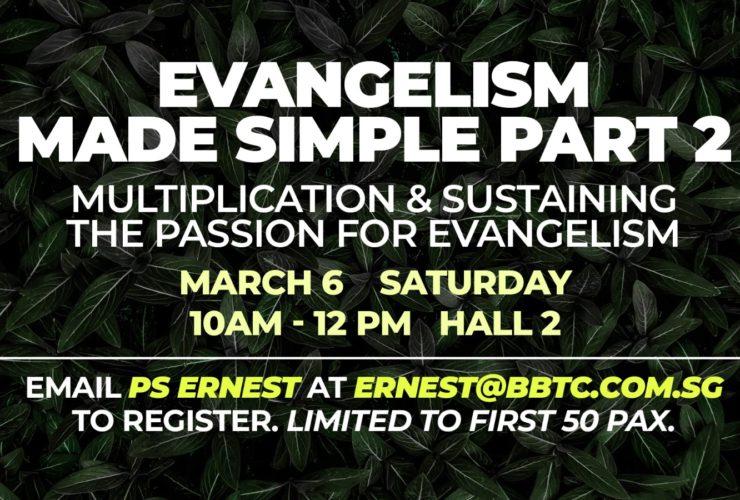 Evangelism Made Simple, Part 2
