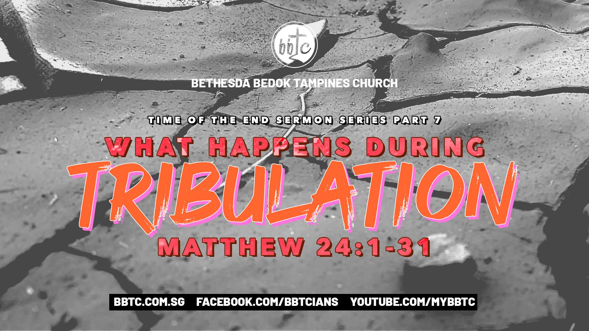 WHAT HAPPENS DURING TRIBULATION