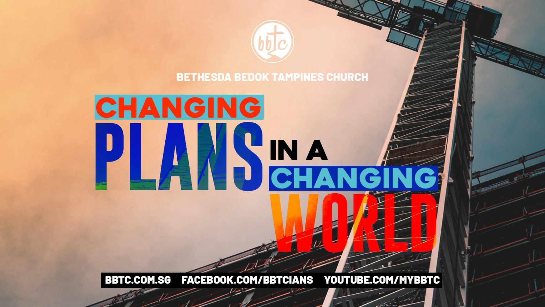 CHANGING PLANS IN A CHANGING WORLD