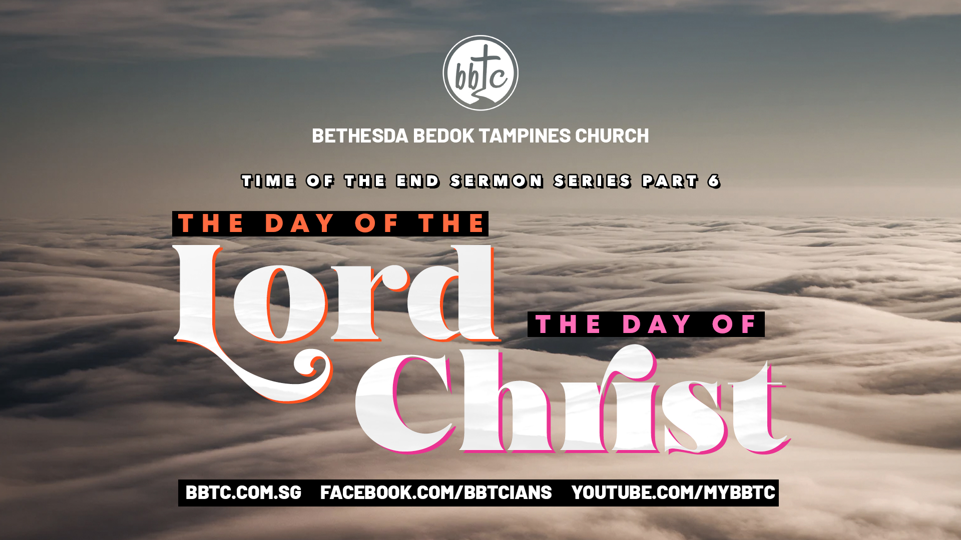 THE DAY OF THE LORD & THE DAY OF CHRIST