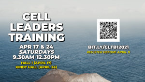Cell Leaders Training Batch 1, 2021