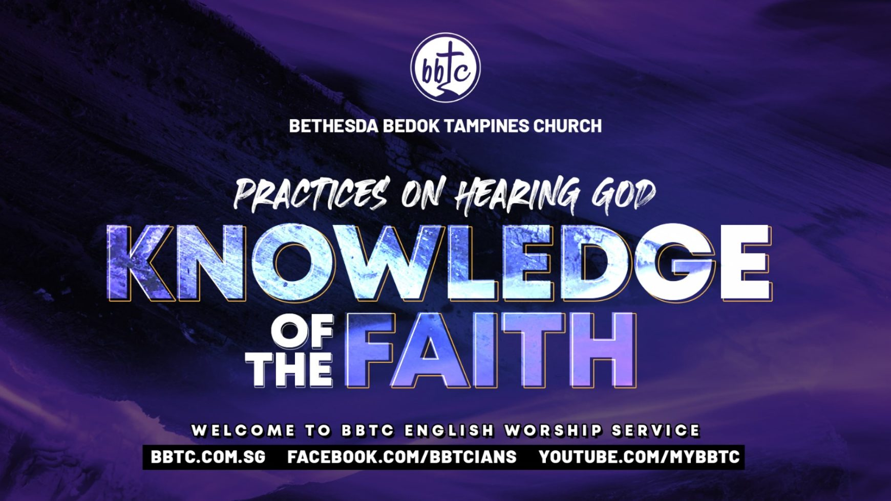 THE KNOWLEDGE OF OUR FAITH
