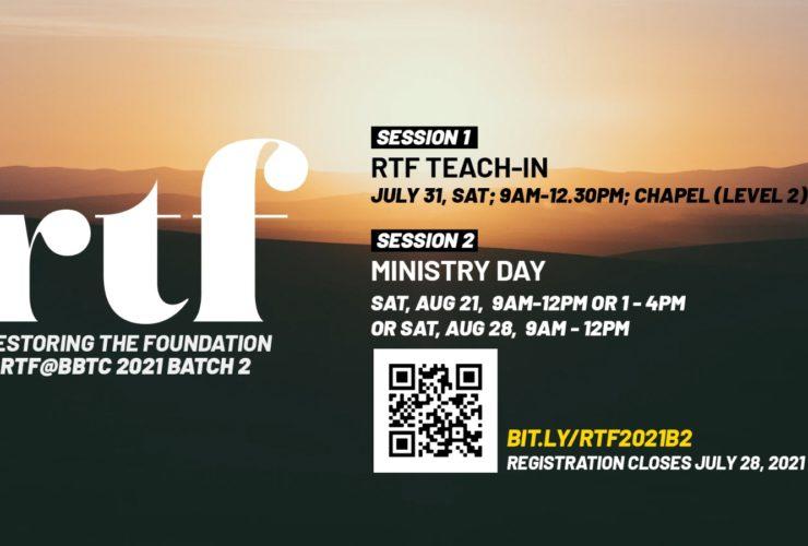 Restoring The Foundation (RTF)