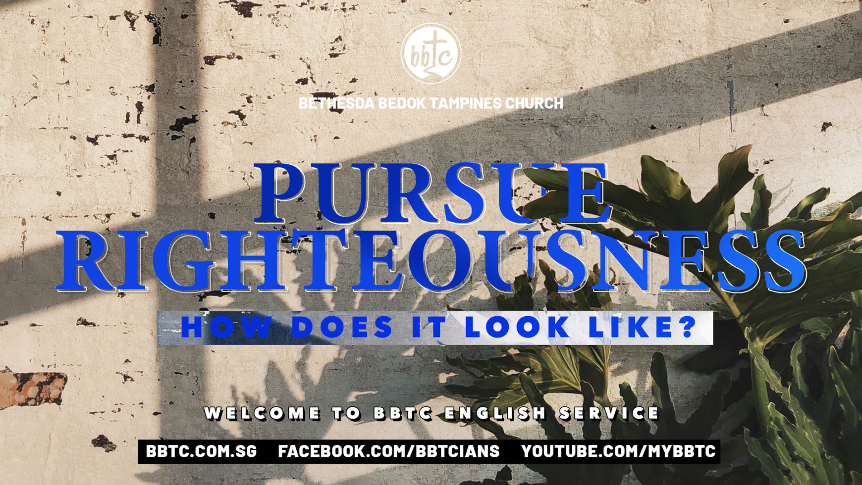 Pursue Righteousness – How Does It Look Like?