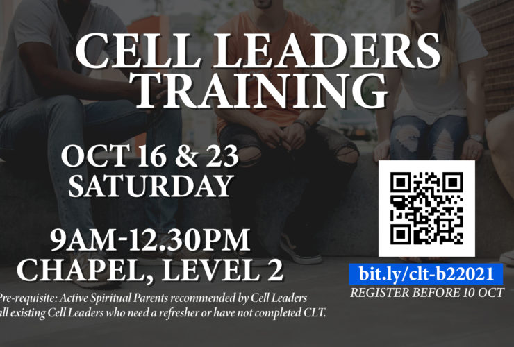Cell Leaders Training