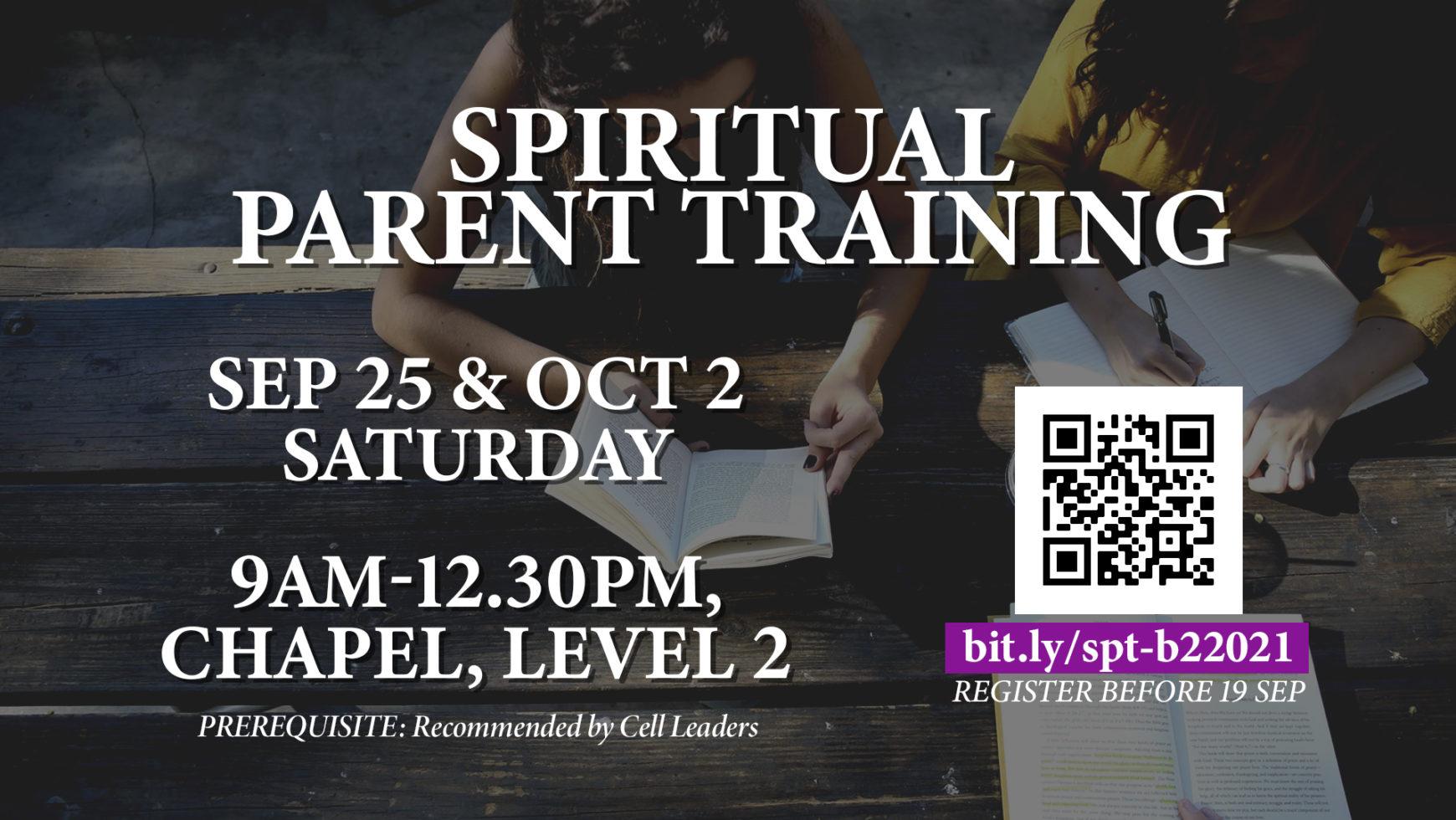 Spiritual Parent Training