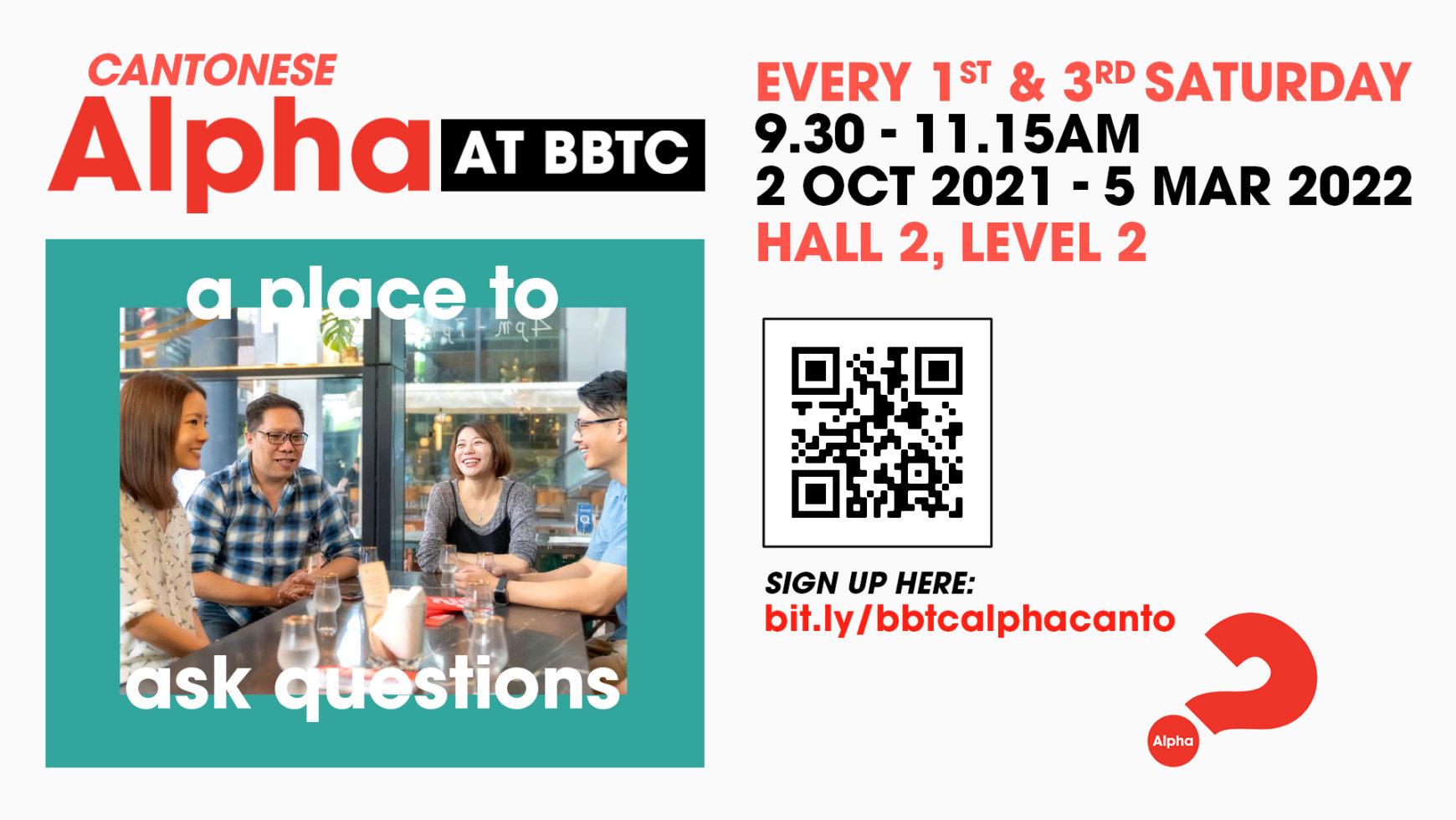 Cantonese Alpha@BBTC