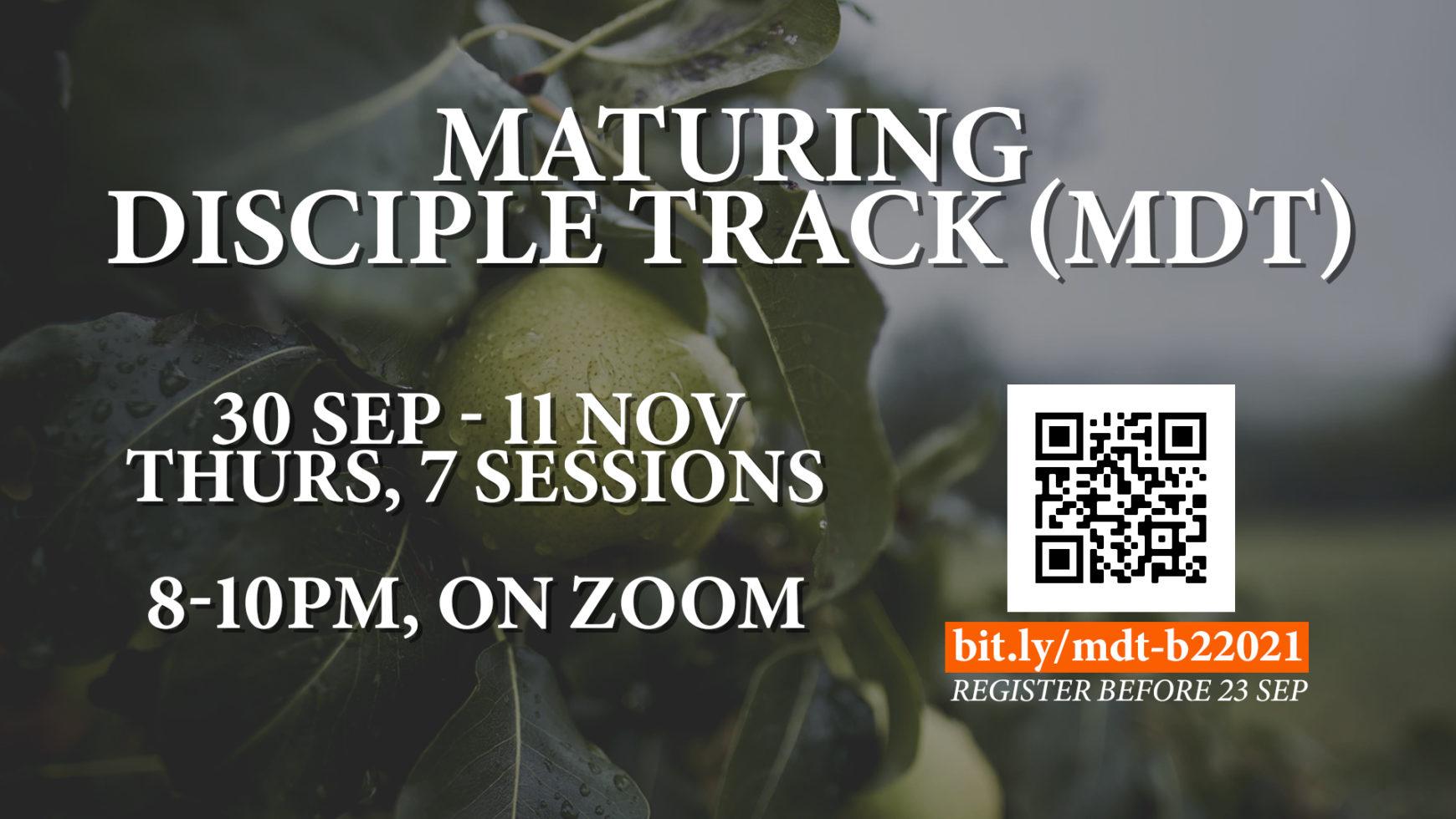 Maturing Disciple Track
