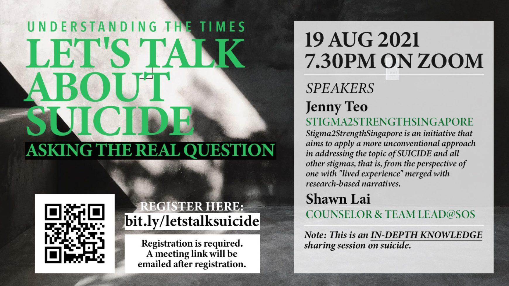 Let's Talk About Suicide