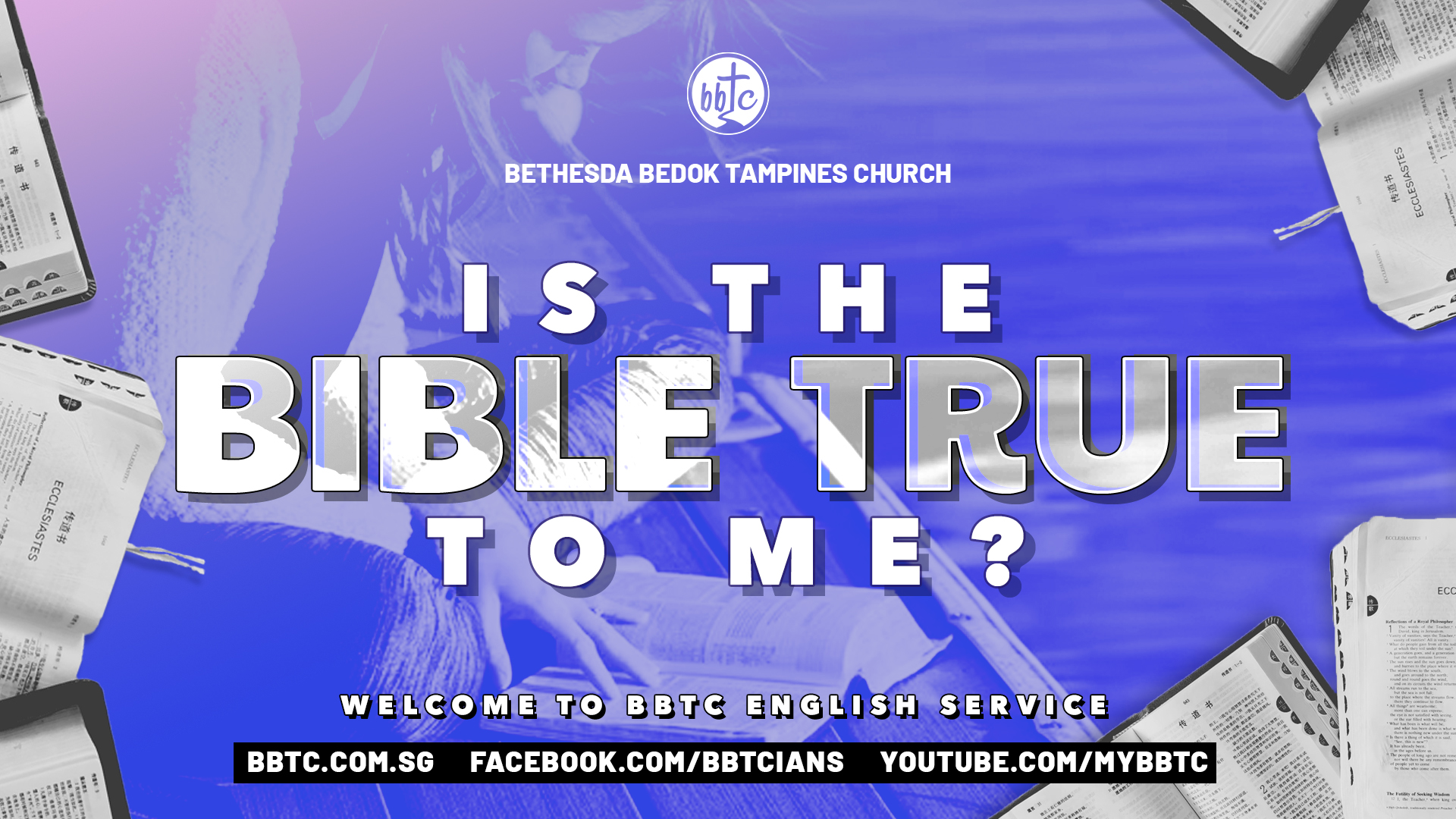 IS THE BIBLE TRUE TO ME?